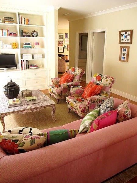 Anna Spiro, Pink Sofa, Manuel Canovas Chairs Cc: @Lauren Dougherty