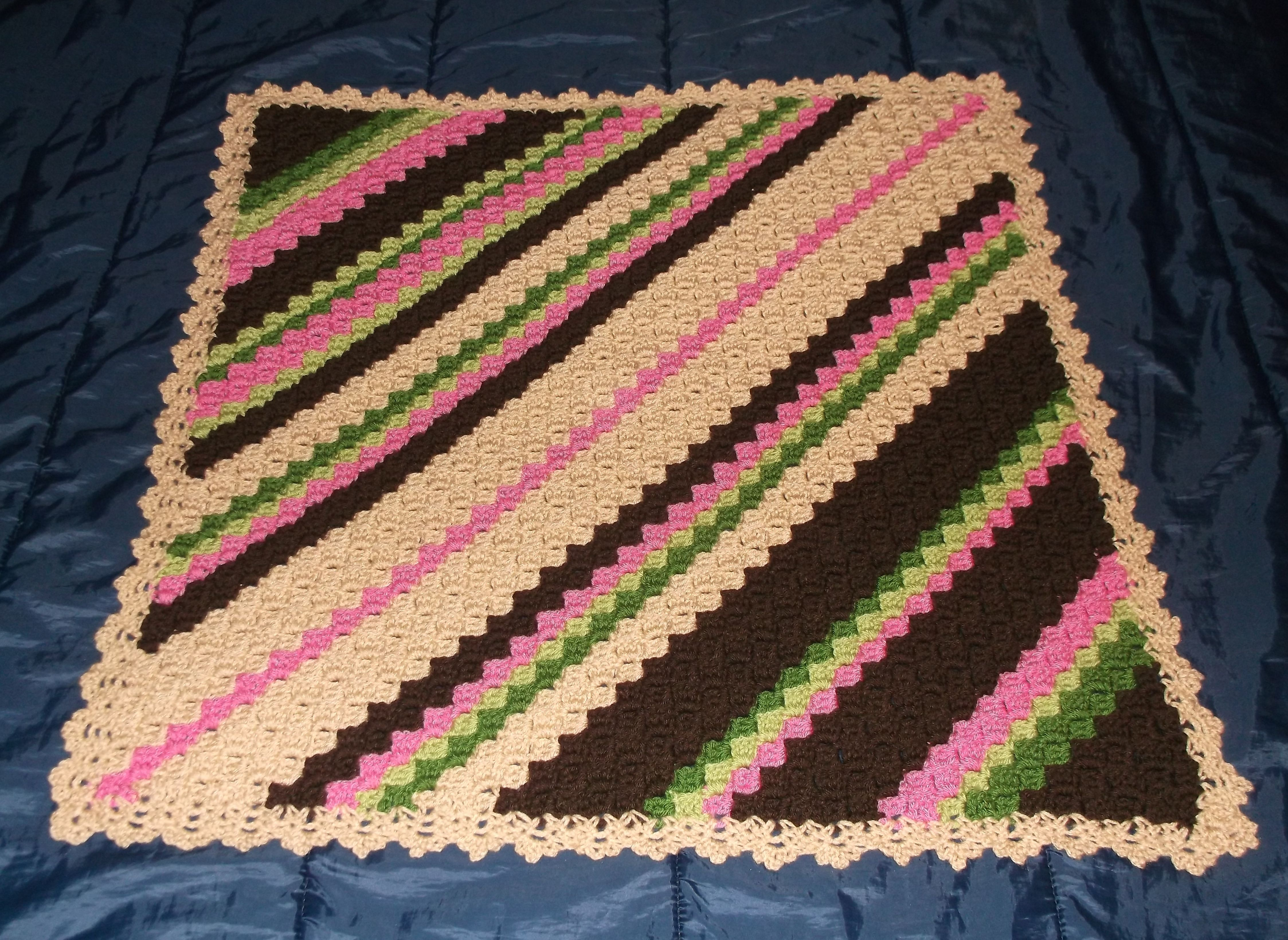 Corner 2 corner crochet afghan httpredheartfree view our most popular corner to corner crochet throw pattern make the throw as written or change the colors and size to suit your needs bankloansurffo Choice Image