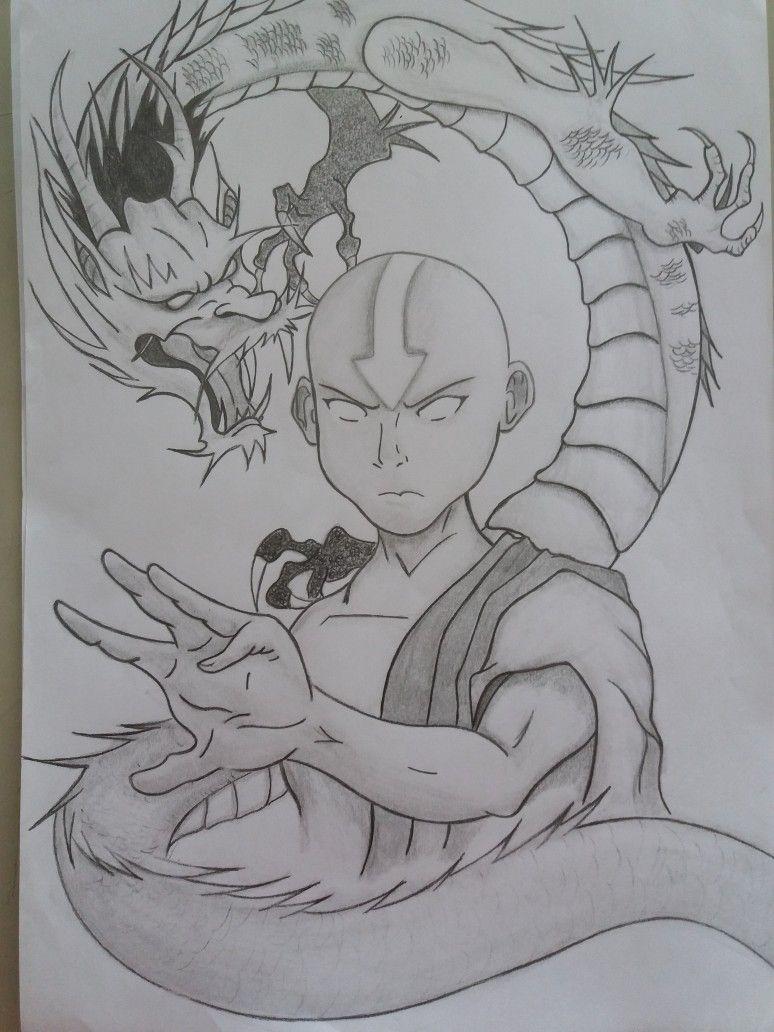 Minha Homenagem Ao Avatar Art Drawings Sketches Simple Art Drawings Simple Avatar The Last Airbender Art