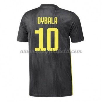 b71f5bf80 Fodboldtrøjer Series A Juventus 2018-19 Paulo Dybala 10 3. Trøje ...