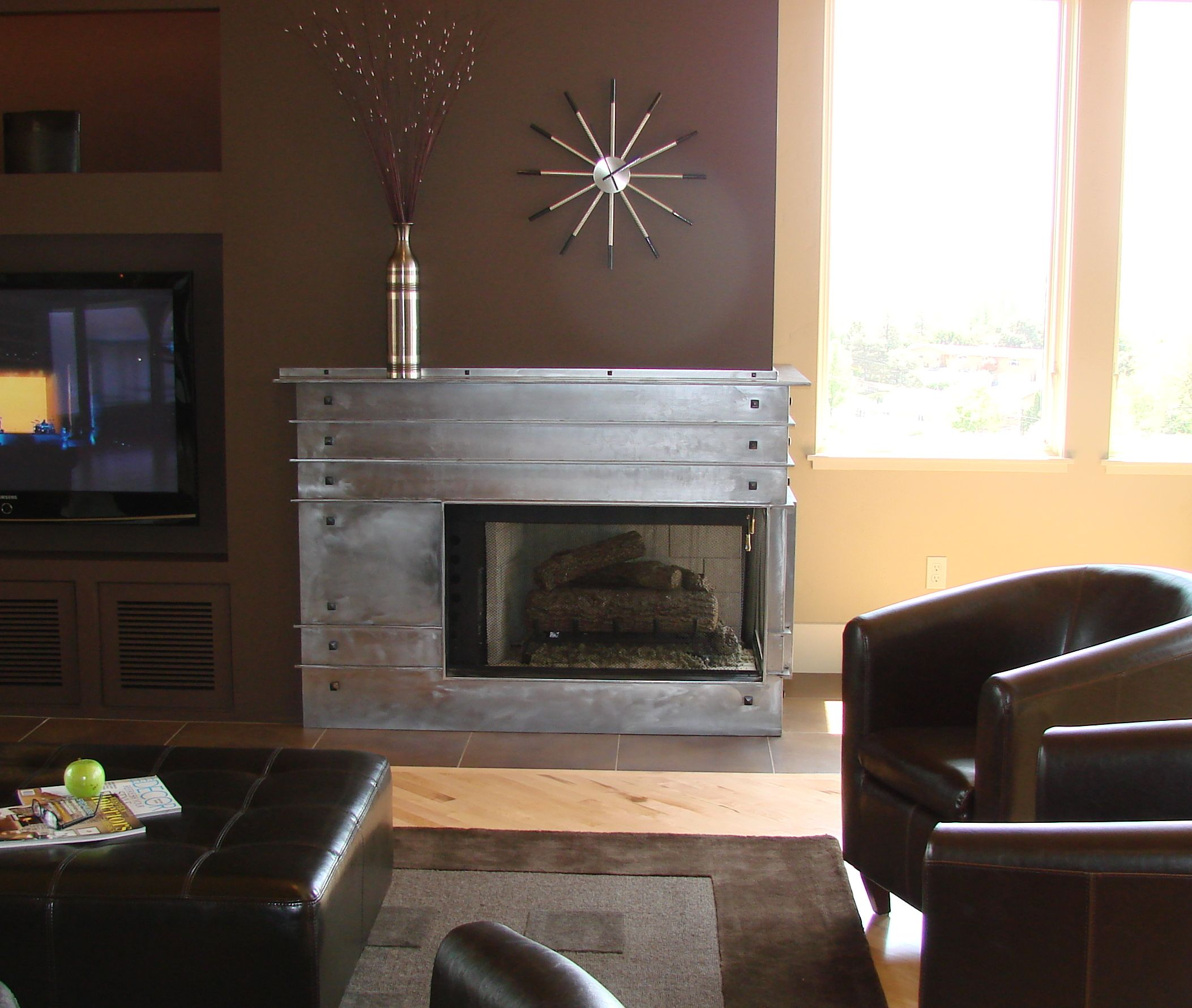 Fantastic Custom Fireplace!