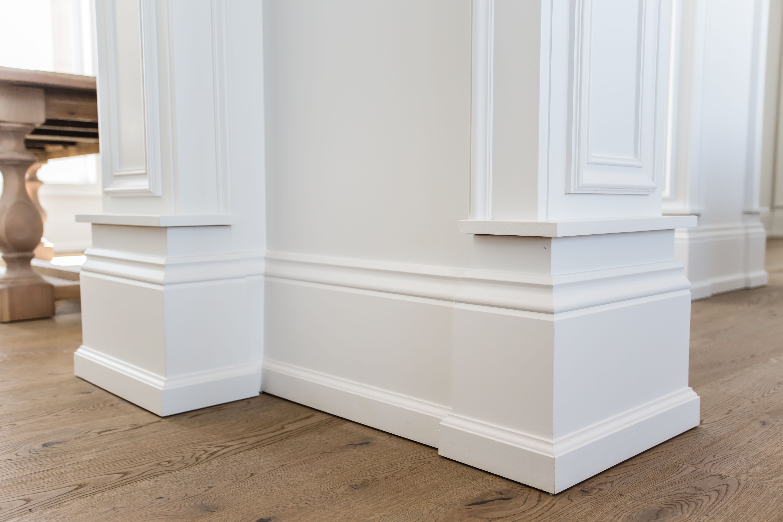 Colonial B Baseboard With Shoe Mould Baseboards Shoe Molding