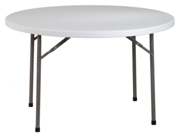White Resin 48 Inch Round Multi Purpose Table Folding Table Round Folding Table Multipurpose Table