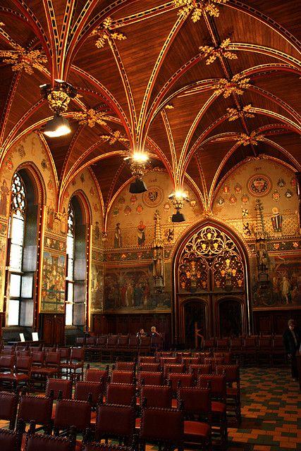 Gothic Cathedral, Brughes, Belgium