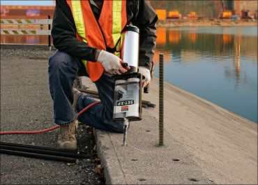 Simpson Strong Tie Epoxy Installation Injection In 2019 Concrete Anchors Anchor Systems