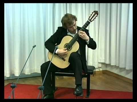 Johann Sebastian Bach - Chaconne BWV 1004  Sanel Redzic - classical guitar