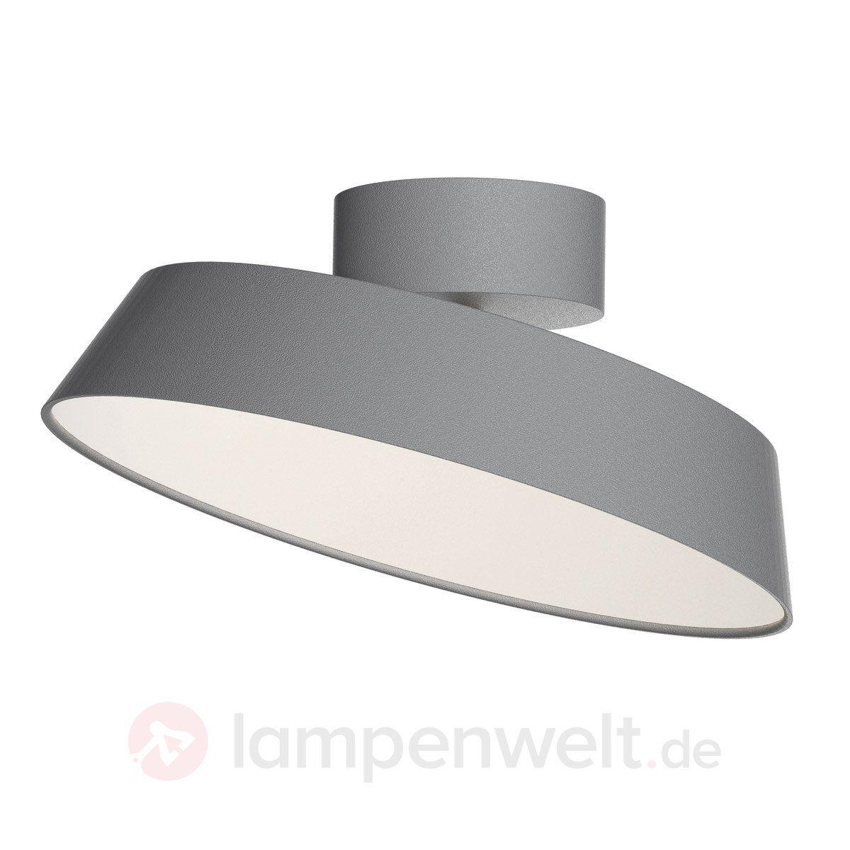 SchirmLampen Mit Alba Deckenlampe Led Graue Schwenkbaren v8Nwmn0O