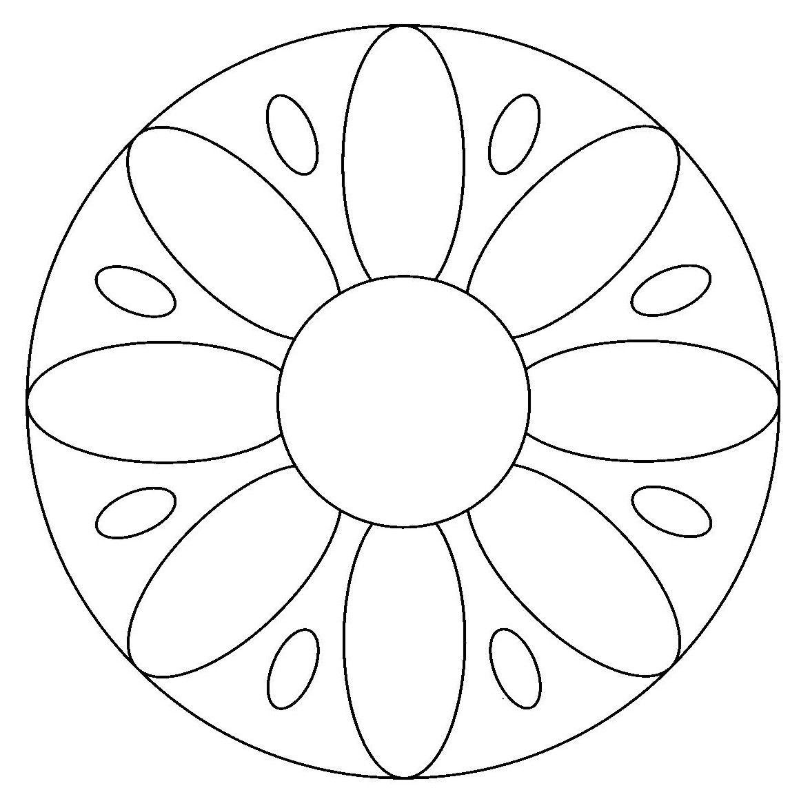 mandalas | Pintar mandalas en el ordenador   Dibujos para colorear
