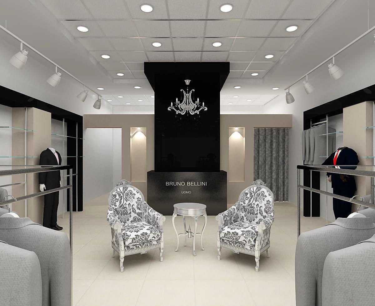 473490bfdc20 Дизайн интерьера бутика мужской одежды   дизайн-проект бутика ...