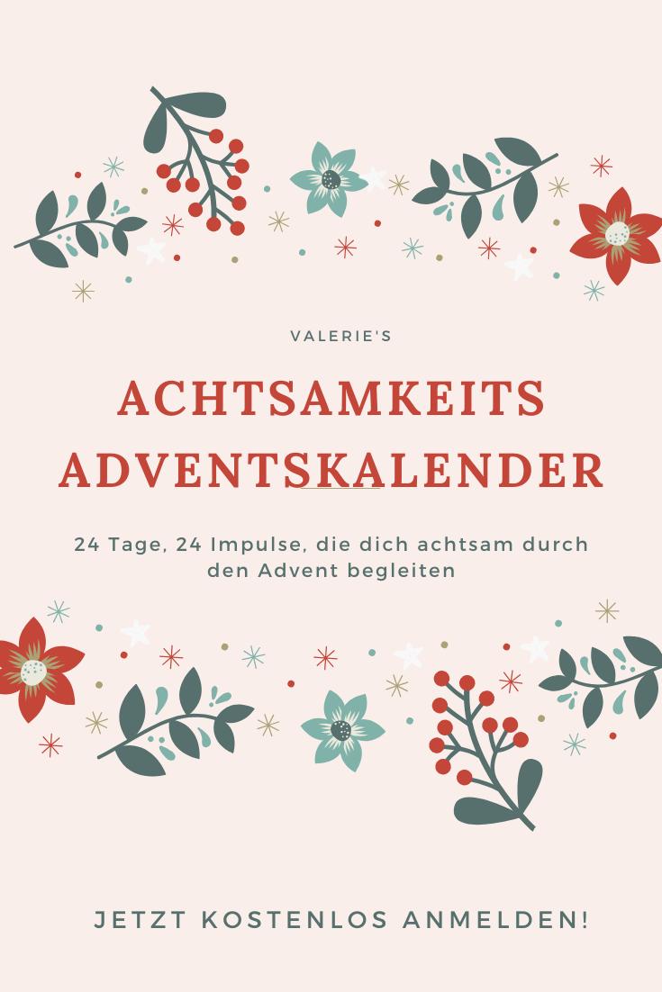 valerie's achtsamkeits-adventskalender   adventskalender