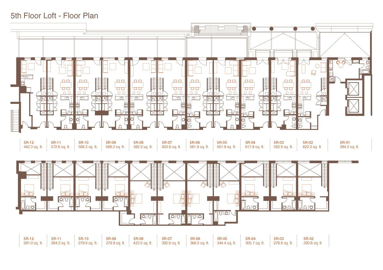 Apartment building floor plans endearing collection paint for Multi family apartment floor plans