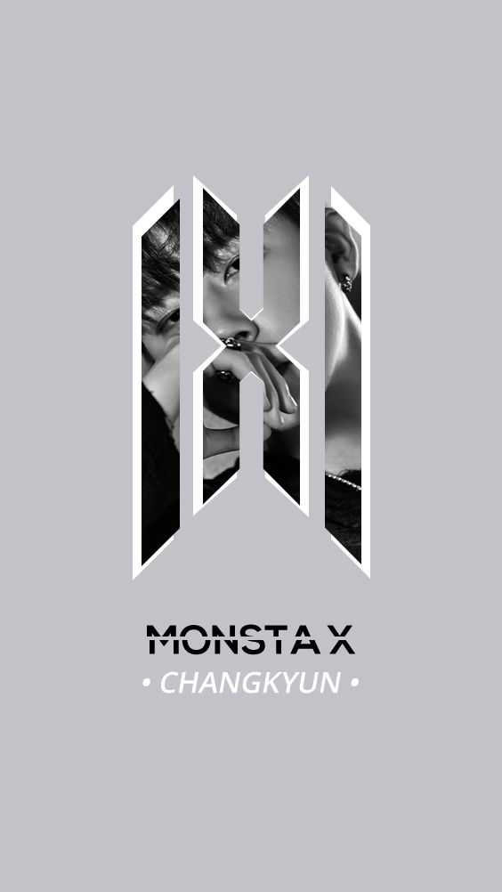 Monsta X New Official Logo Wallpaper Changkyun Monsta X Monsta X Wonho Monsta X Shownu