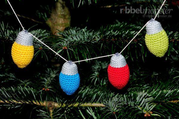Amigurumi Kleinste Weihnachtslichter Häkeln Kostenlose