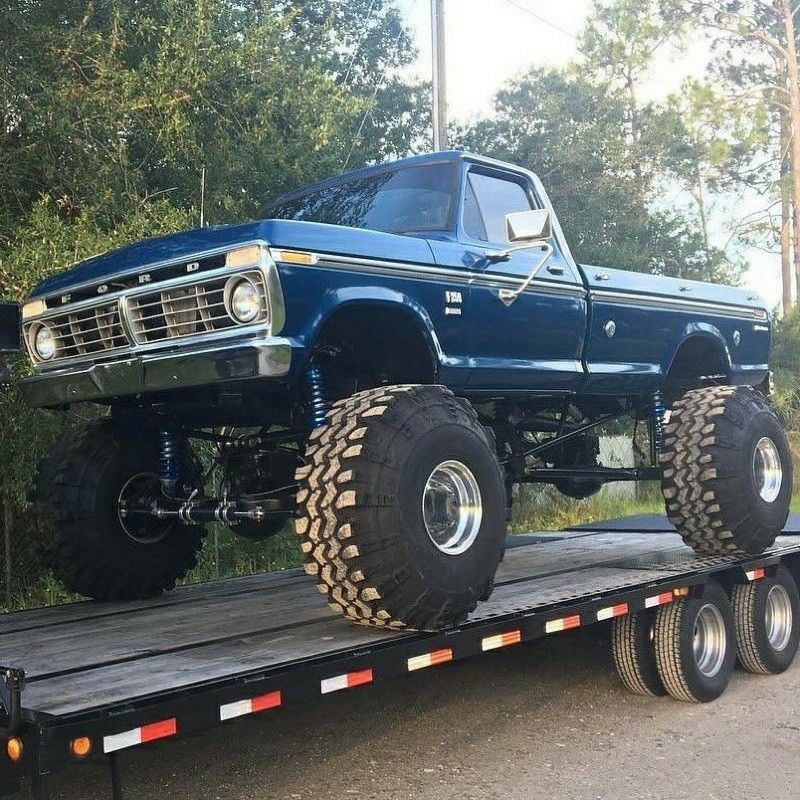 73 75 Ford Highboy Ford Trucks Trucks Lifted Ford Trucks