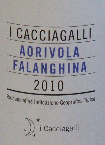 2010 I Cacciagalli Aorivola Falanghina, Roccamonfina 750 mL *** Click image to review more details.
