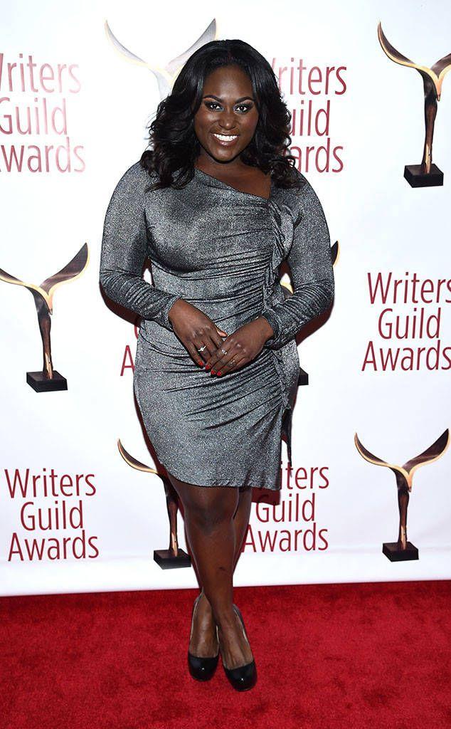 Danielle Brooks From 2017 Wga Awards Red Carpet Arrivals The Orange Is The New Black Star Sparkles In A Black Beauty Women Ebony Women Beautiful Black Women