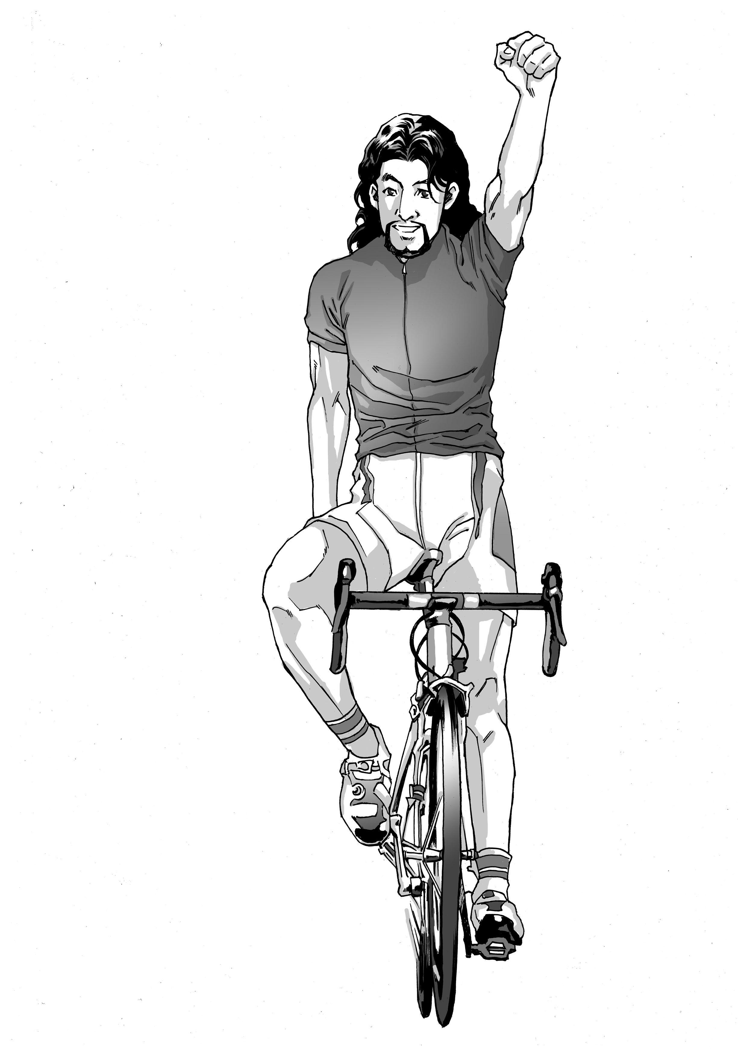 Jesus Riding Bicycle Jesus Riding Sketches
