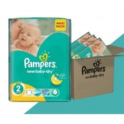 Maxi Giga Pack 320 Couches Pampers New Baby Taille 2 Sur Les Looloos