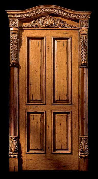 Door surrounds dream home 1 pinterest doors - Decorative exterior door pediments ...