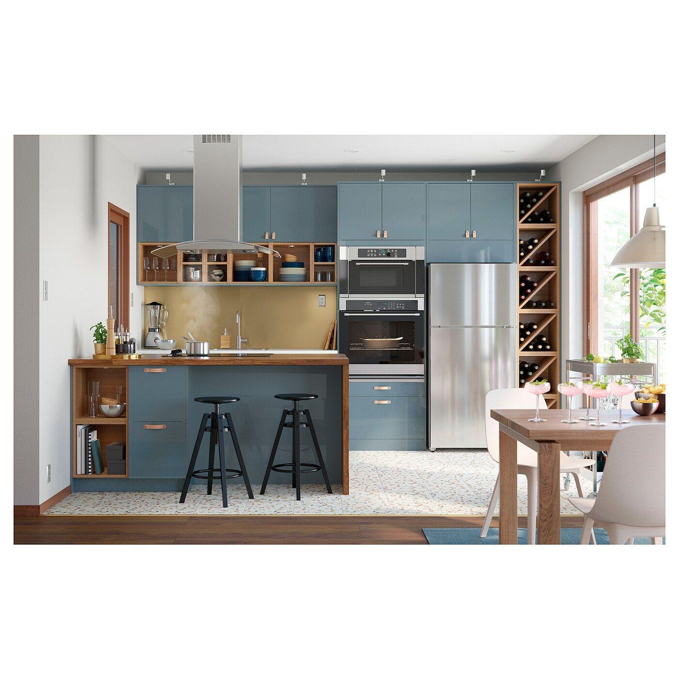 Ikea Karlby Countertop For Kitchen Island Walnut Veneer In 2020