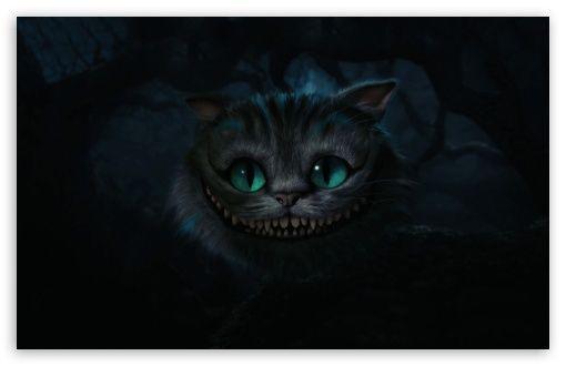 Http Hd Wallpaperswide Com Thumbs Cheshire Cat Alice In Wonderland T2 Jpg 猫