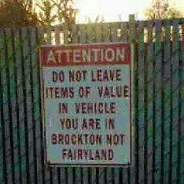 Brockton!