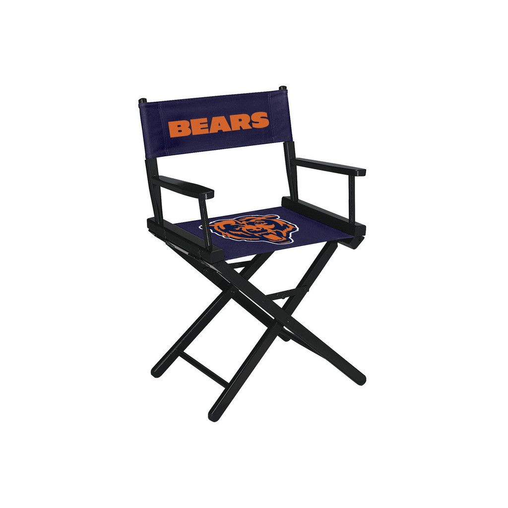 Directors Chair   Table Height   Chicago Bears