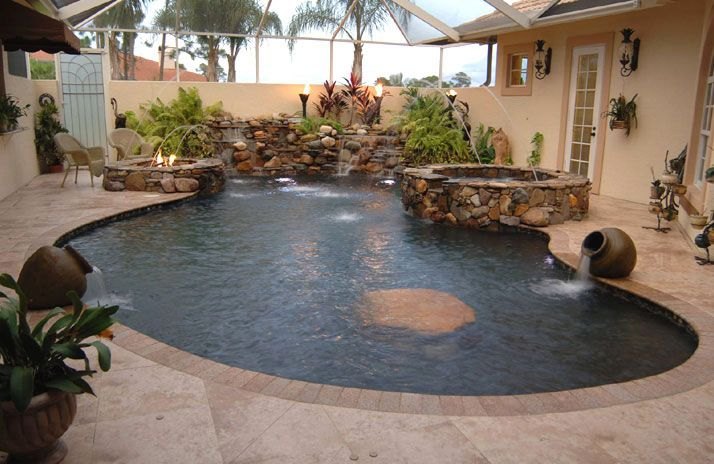 Swimming Pools Pool Contractor Commercial Pools Fountains Spas Vero Beach Fort Pierce Port St Lucie Fl Concrete Pool Pool Builders