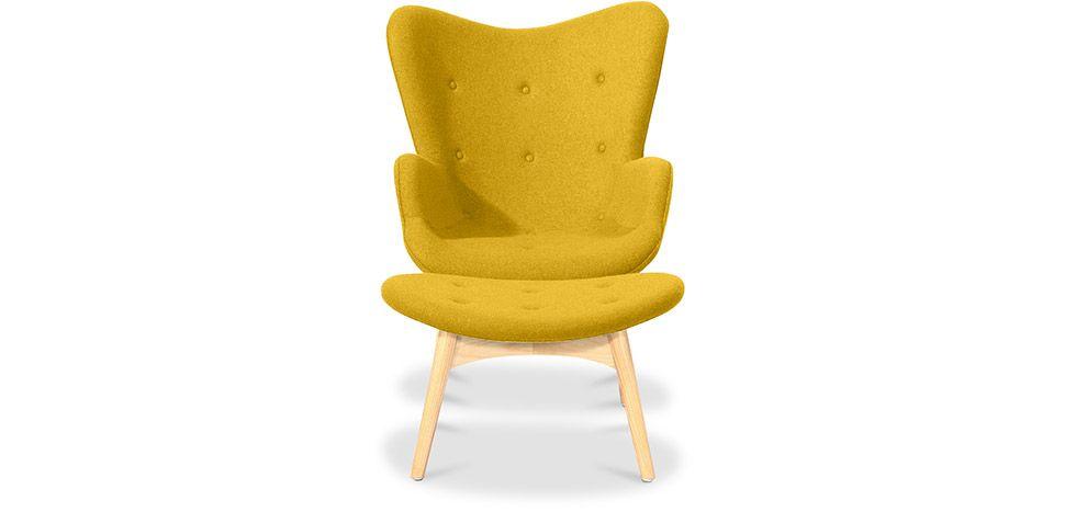 Contour Sessel Und Fußbank   Skandinavisches Design   Grant Featherston  Style   Sessel Mit Ottoman