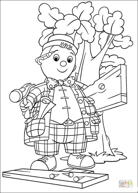 Нодди, маленькая деревянная кукла, которая живет в стране ...