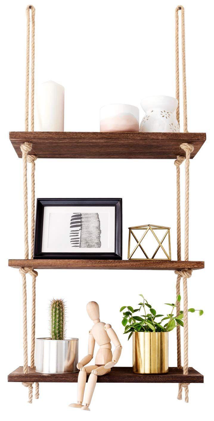 mkono wall hanging shelves wood window shelf rustic on wall shelf id=92966