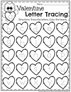 picture relating to Preschool Valentine Printable Worksheets named Valentines Worksheets preschool Preescolar, Pensamiento
