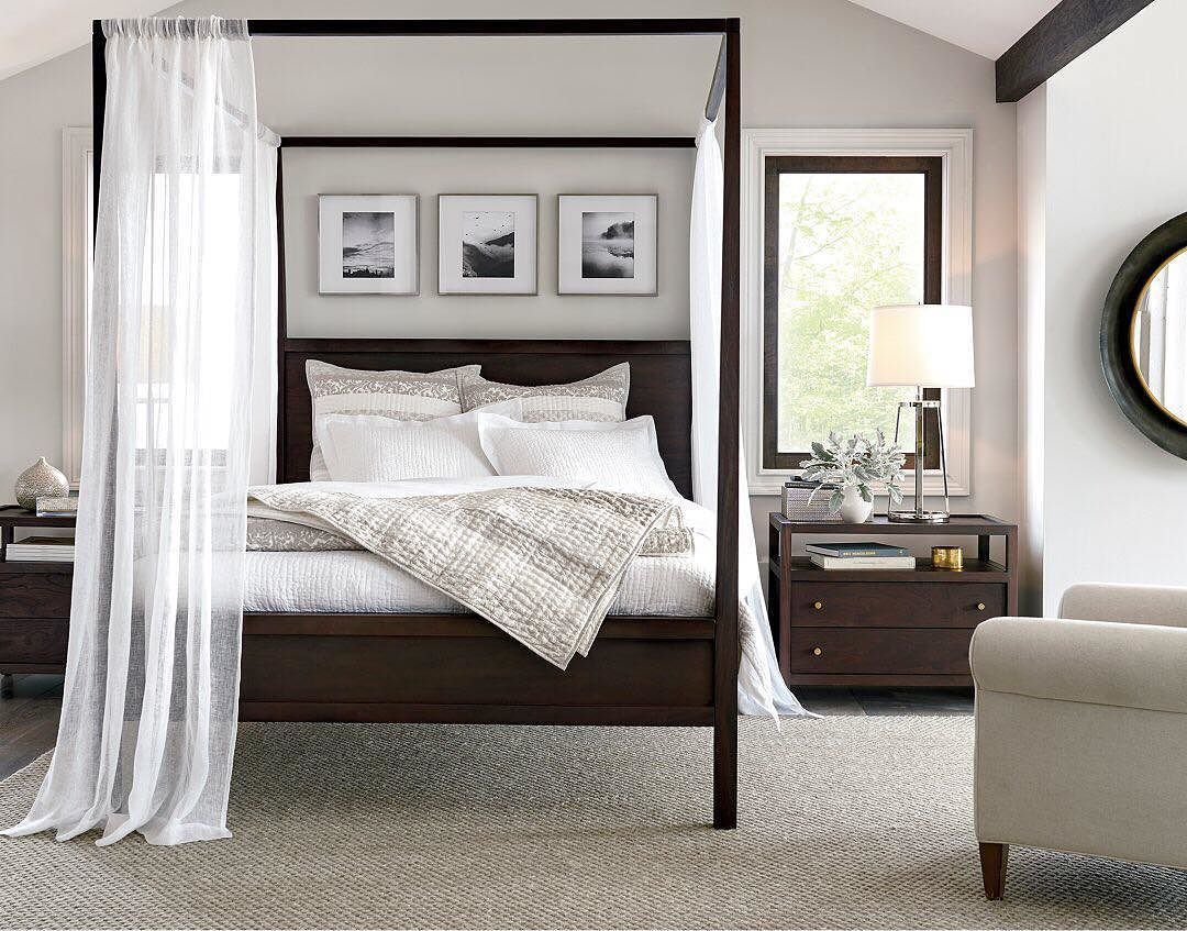 Designed by Bill Eastburn of William Eastburn Design the Keane King Canopy Bed is a Crate and Barrel exclusive. & Itu0027s your final weekend to save with our Bedroom Sale! ? Tap link ...