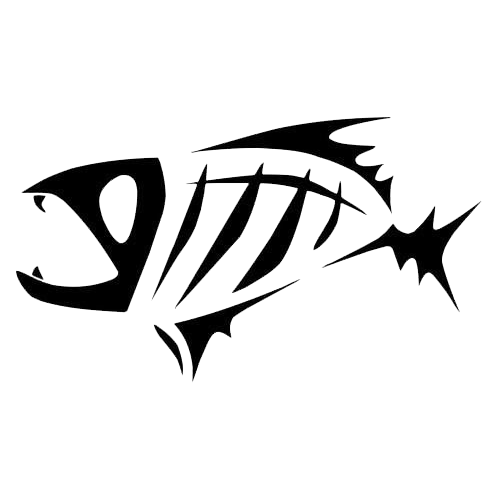 Scary Archives Decals Stickers Vinyl Decals Car Decals - Cool custom vinyl decals for carsfish hook die cut vinyl decal pv projects pinterest fish