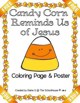Candy Corn Reminds Us Of Jesus Freebie Candy Corn Candy Corn
