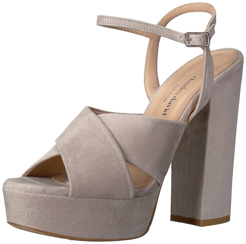 8f3025014a Charles David Women s Rima Platform Dress Sandal. High block heel dress  shoe
