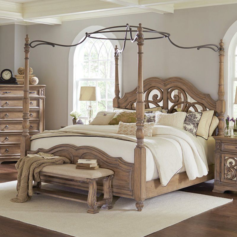 george canopy configurable bedroom set & reviews | birch