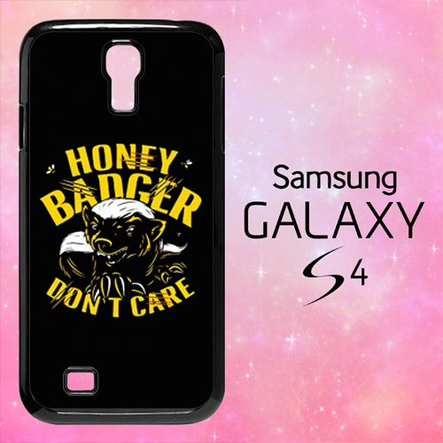 ER1420 Honey Badger Don't Care Samsung Galaxy S4 Case | BirlynaCase - Accessories on ArtFire