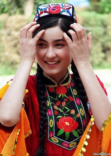 Uighur girl | Muslim girls, Girl, Women