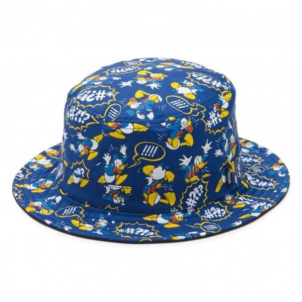 1331f243771 Disney Donald Duck Bucket Hat ( 54) ❤ liked on Polyvore featuring  accessories