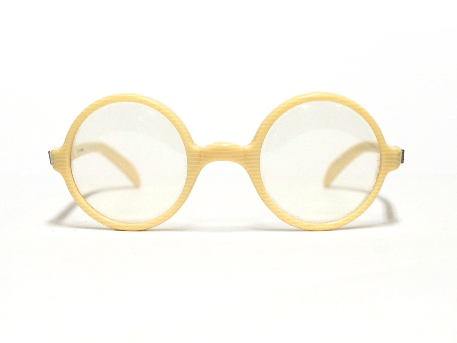 Amor Vintage Eyeglasses - panto style - round eyewear - French eyeglasses in new old stock condition
