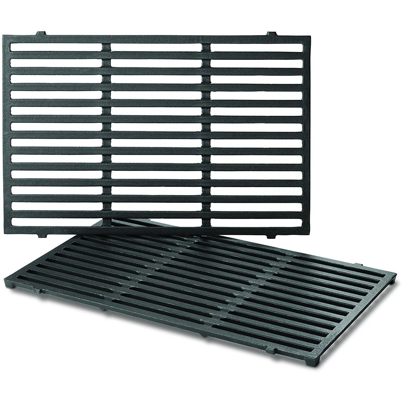 Weber 7638 Porcelain Enameled Cooking Grates For Genesis B Spirit 300 Series Gas Grills Products In 2019 Cast Iron Cooking Grilling Cooking