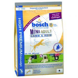 Bosch Mini Adult Lamm Reis Hundefutter Bosch Hundefutter Und Hunde Futter
