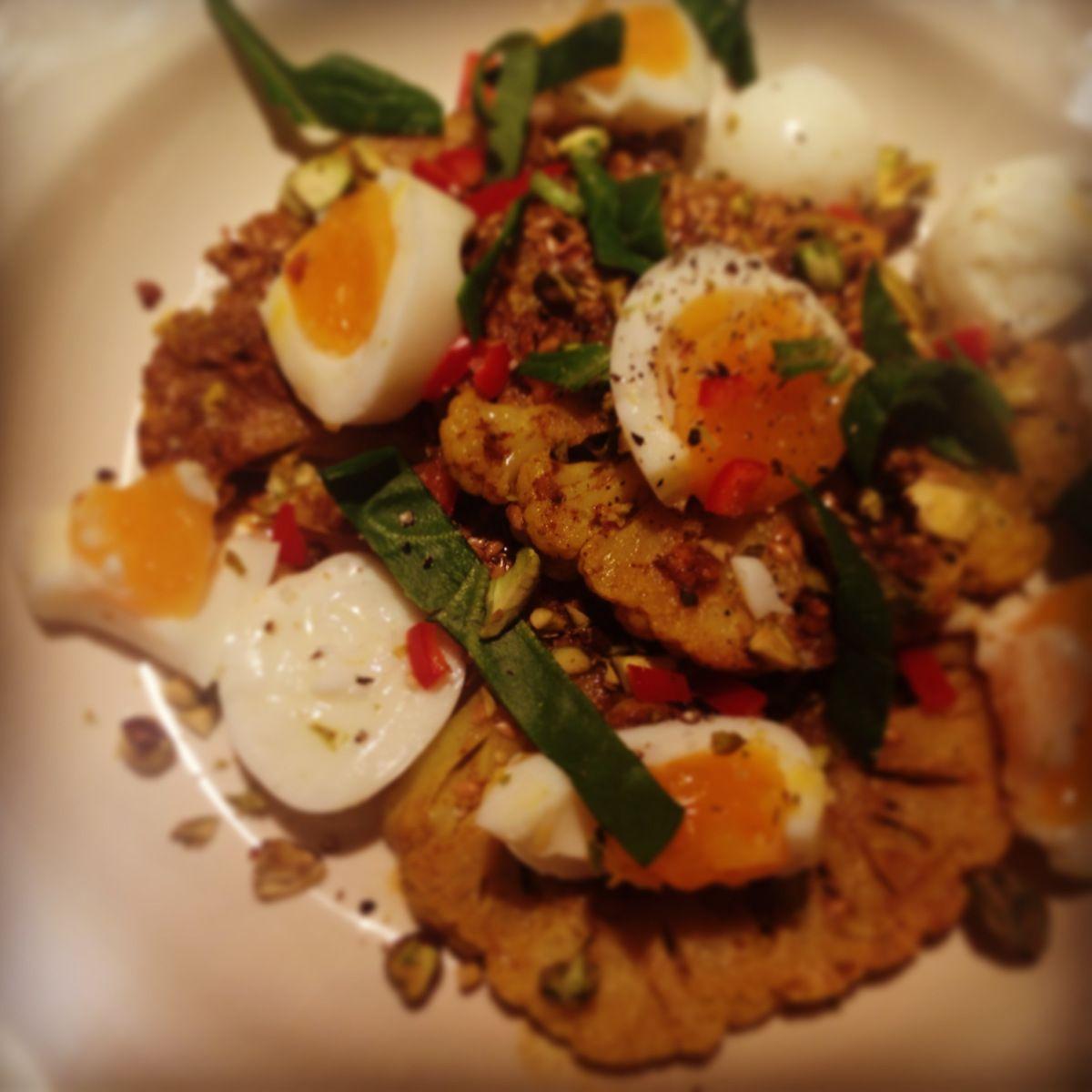 Paleo Egg and Cauliflower Curry