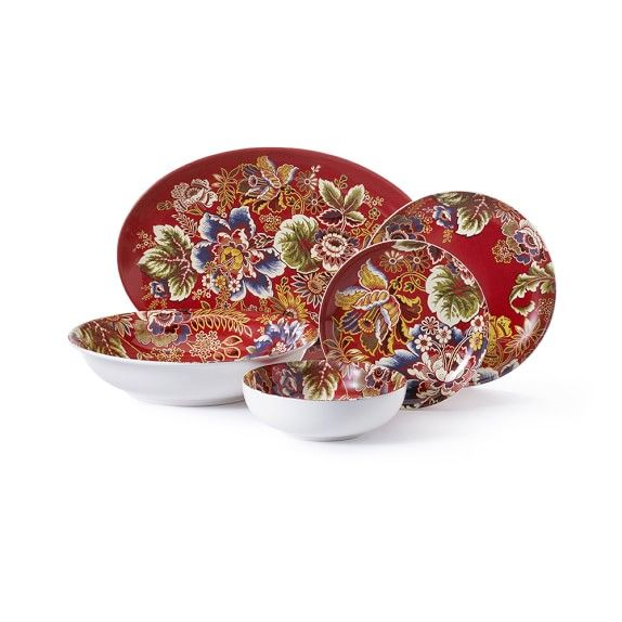 Shop Williams-Sonoma\u0027s complete selection of dinnerware collections. Find exclusive dinnerware sets and dishes in a variety of styles.  sc 1 st  Pinterest & Spanish Floral Dinnerware Collection | Williams Sonoma ...