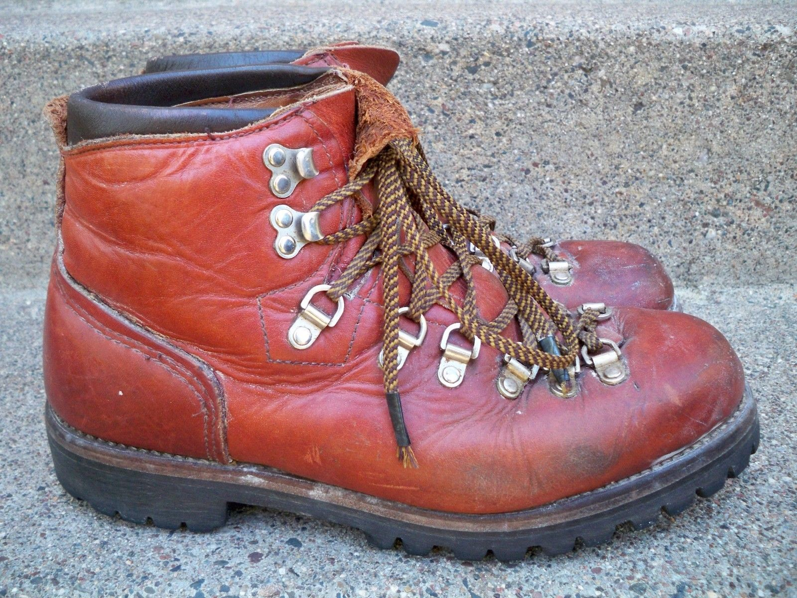 956668d3e58fc Vintage Red Wing Irish Setter Mountaineering Hiking Stomper Men's ...
