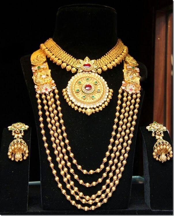 Designer Look Indian Bridal Jewelry Pinterest Designers