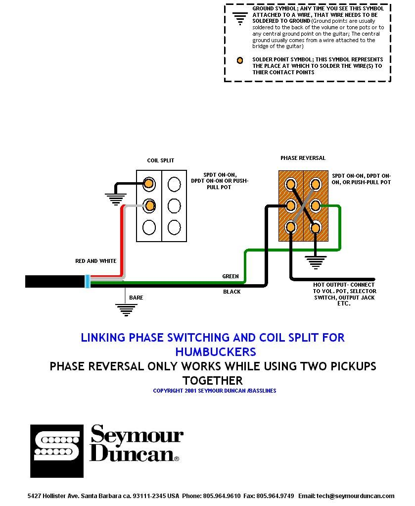 medium resolution of phase humbucker pickup wiring diagram