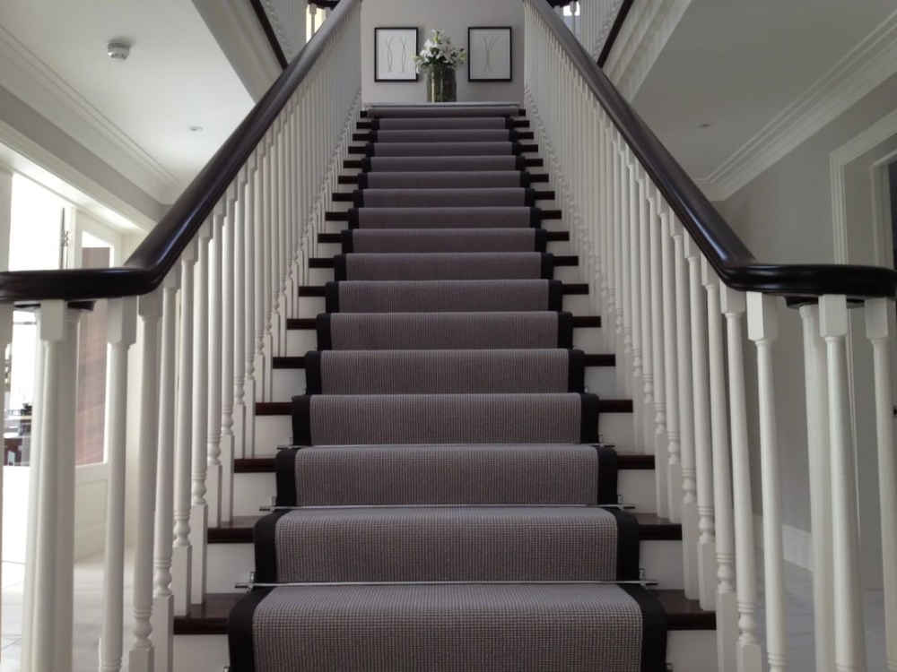 Eaton Square On Instagram If You Want To Make A Statement Stair Runners Are The Perfect Solution A Stair Runner Will Allo In 2020 Carpet Staircase Staircase Stairs