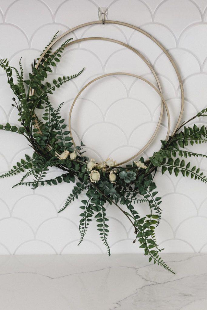 Photo of DIY Modern Fall Wreath – Love Create Celebrate